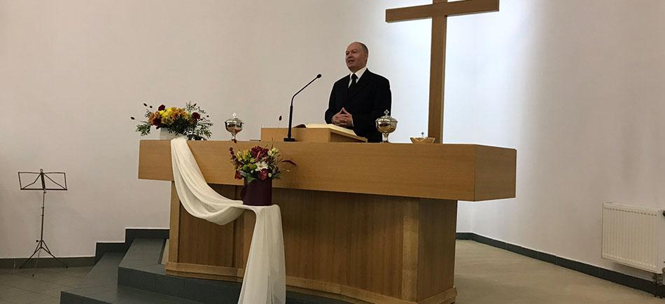 Служение апостола в Минске